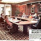 Audrey Hepburn, James Mason, Ben Gazzara, Omar Sharif, Romy Schneider, Irene Papas, and Maurice Ronet in Bloodline (1979)