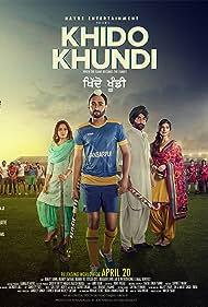 Manav Vij, Ranjit Bawa, and Elnaaz Norouzi in Khido Khundi (2018)
