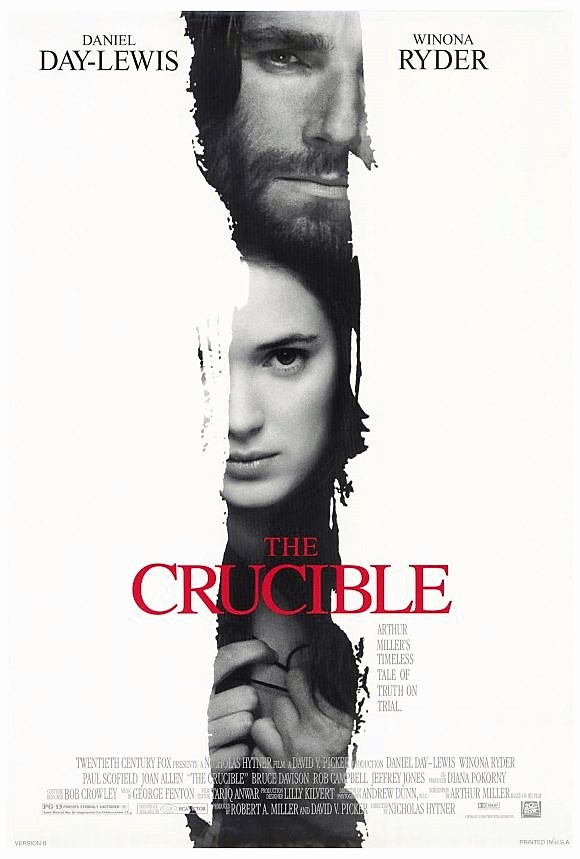 The Crucible Movie Cover