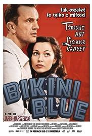 Bikini Blue Poster