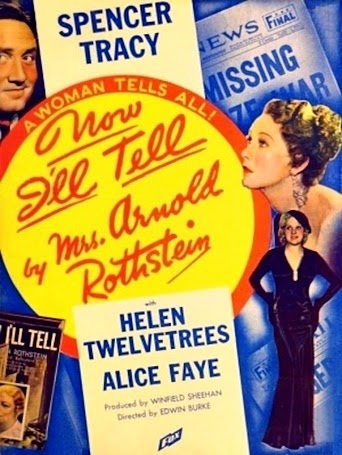 Spencer Tracy, Alice Faye, and Helen Twelvetrees in Now I'll Tell (1934)
