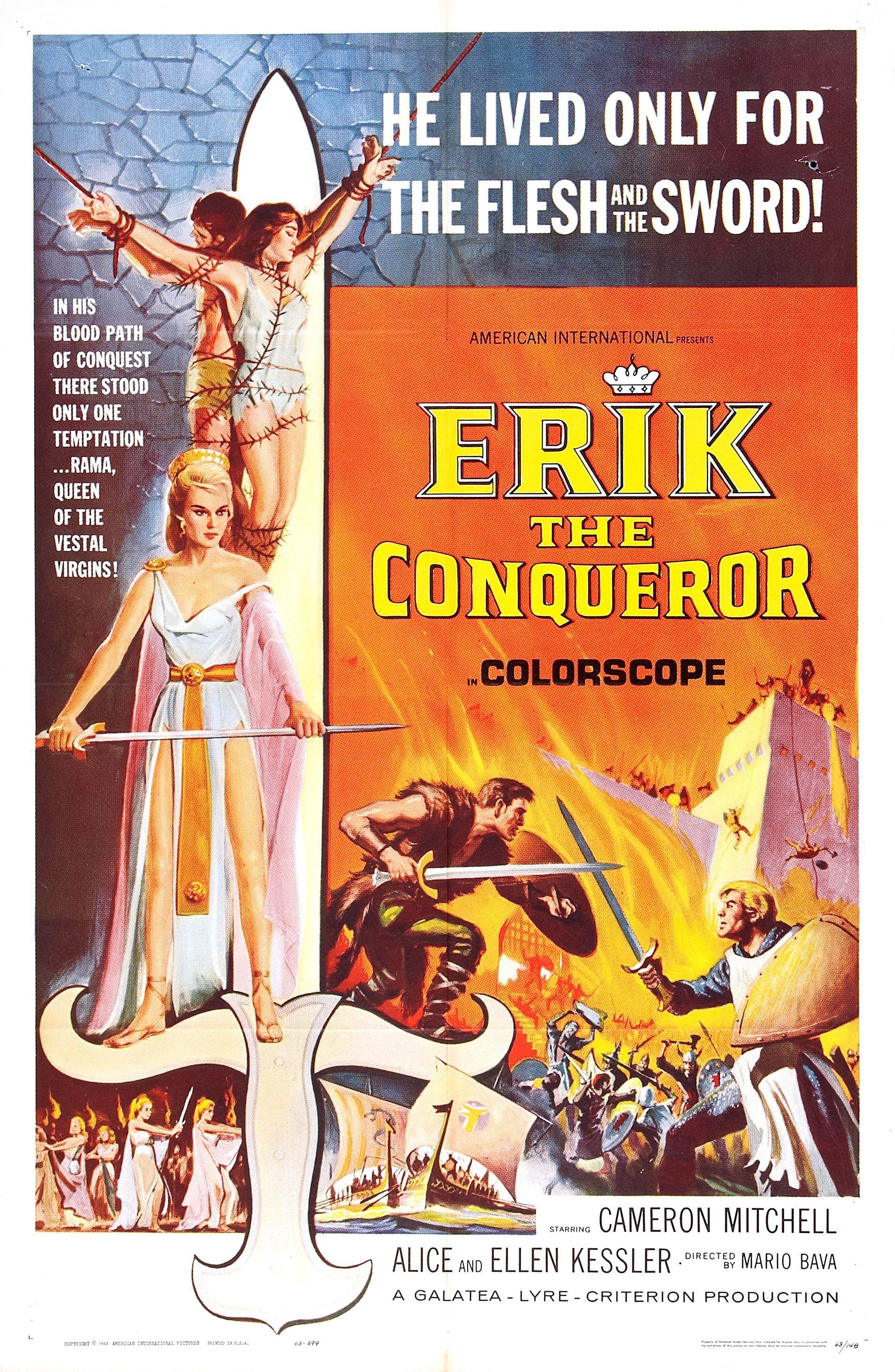 Erik The Conqueror (1961)   IMDb