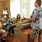 Alyssa Milano, Beau Bridges, Meagen Fay, Eric Winter, Stella Hudgens, and Aramis Knight in Single with Parents (2008)