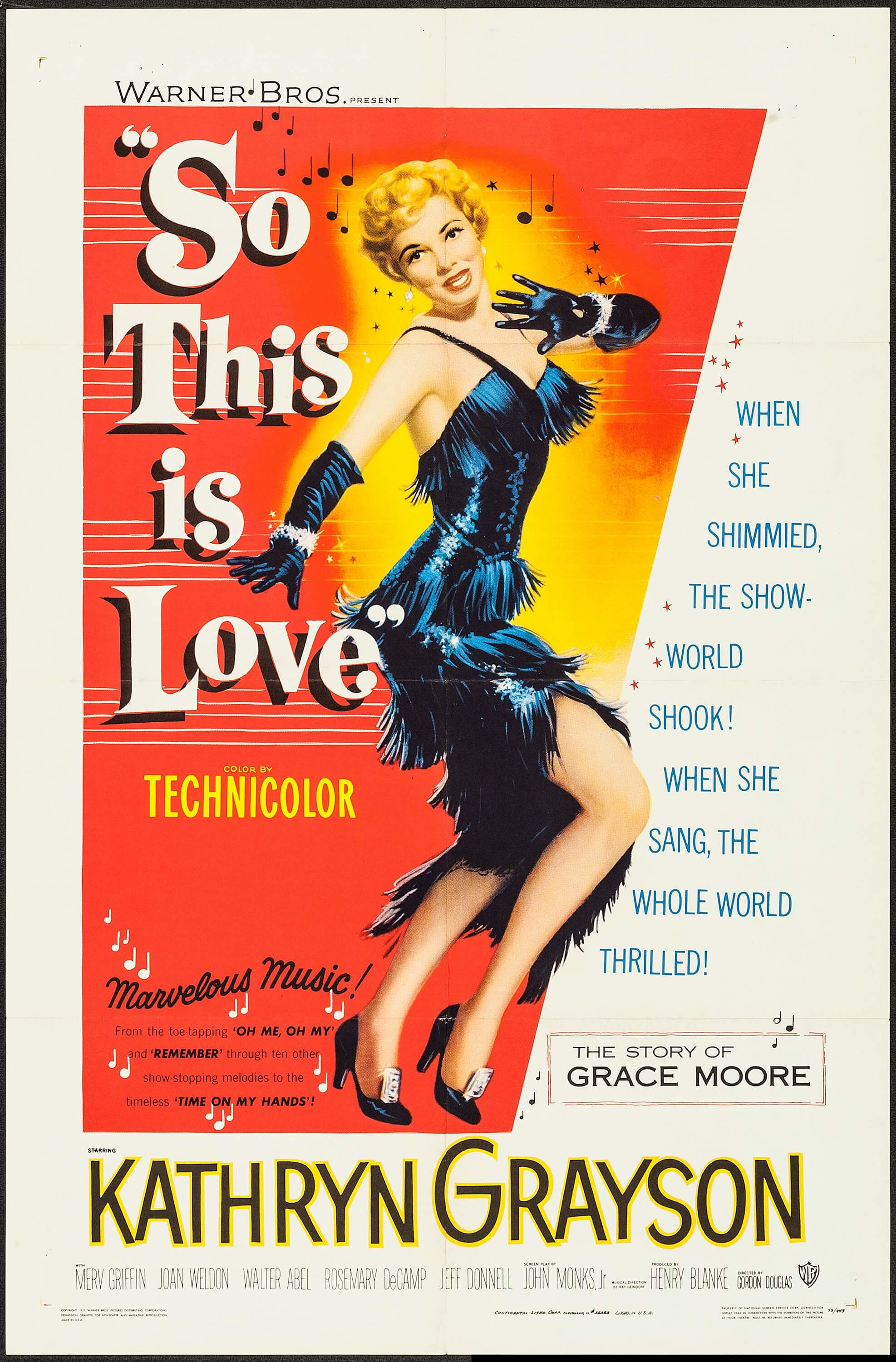 So This Is Love (1953) - IMDb