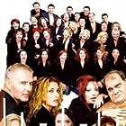Yannis Bostantzoglou, Faye Kokkinopoulou, Mirka Papakonstantinou, Jessy Papoutsi, and Nikos Seryanopoulos in Oi stavloi tis Erietas Zaimi (2002)