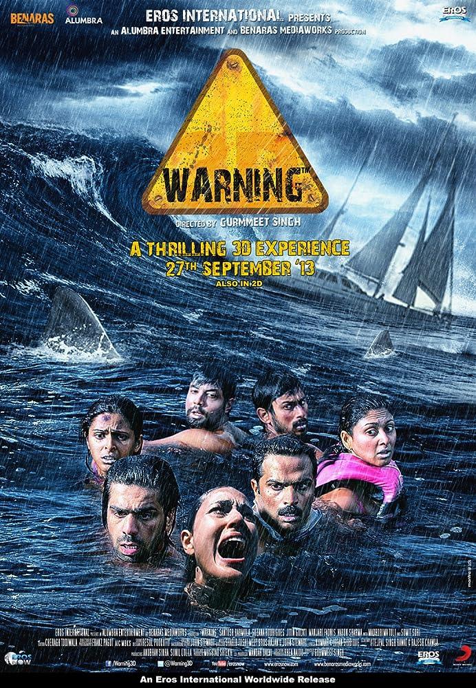 Warning (2013) Hindi 300MB HDRip 480p x264 ESubs
