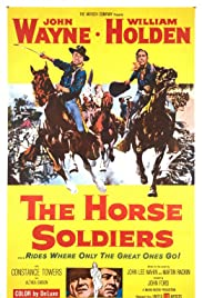 The Horse Soldiers Poster