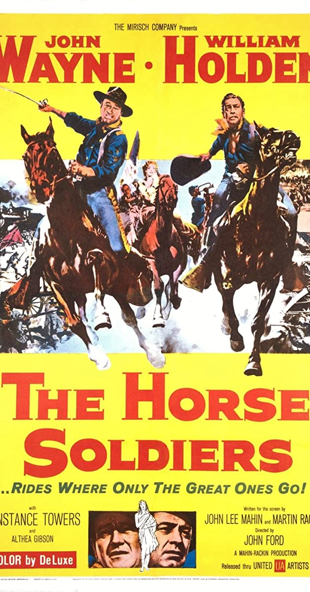Subtitle of The Horse Soldiers