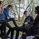 Chloe Rose, Nicole Muñoz, Eric Osborne, and Romeo Carere in Pyewacket (2017)
