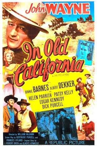John Wayne, Binnie Barnes, Albert Dekker, Patsy Kelly, Helen Parrish, and Dick Purcell in In Old California (1942)