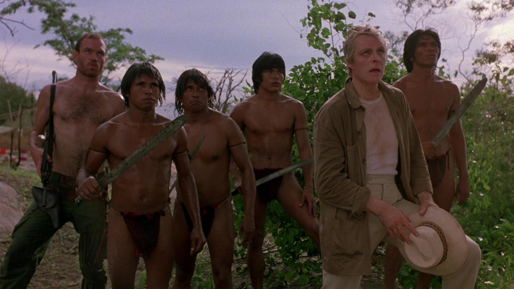 Richard Lynch in Inferno in diretta (1985)