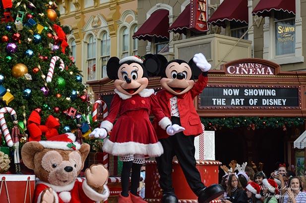 Disney Christmas Parade.Disney Parks Christmas Parade Special 2009
