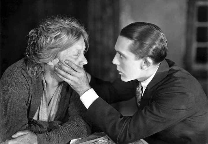 Louise Dresser and Jack Pickford in The Goose Woman (1925)