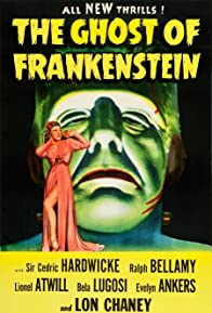 Primary photo for The Ghost of Frankenstein