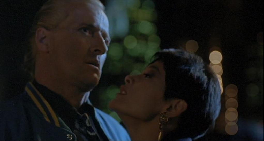 Rutger Hauer and Joan Chen in Wedlock (1991)