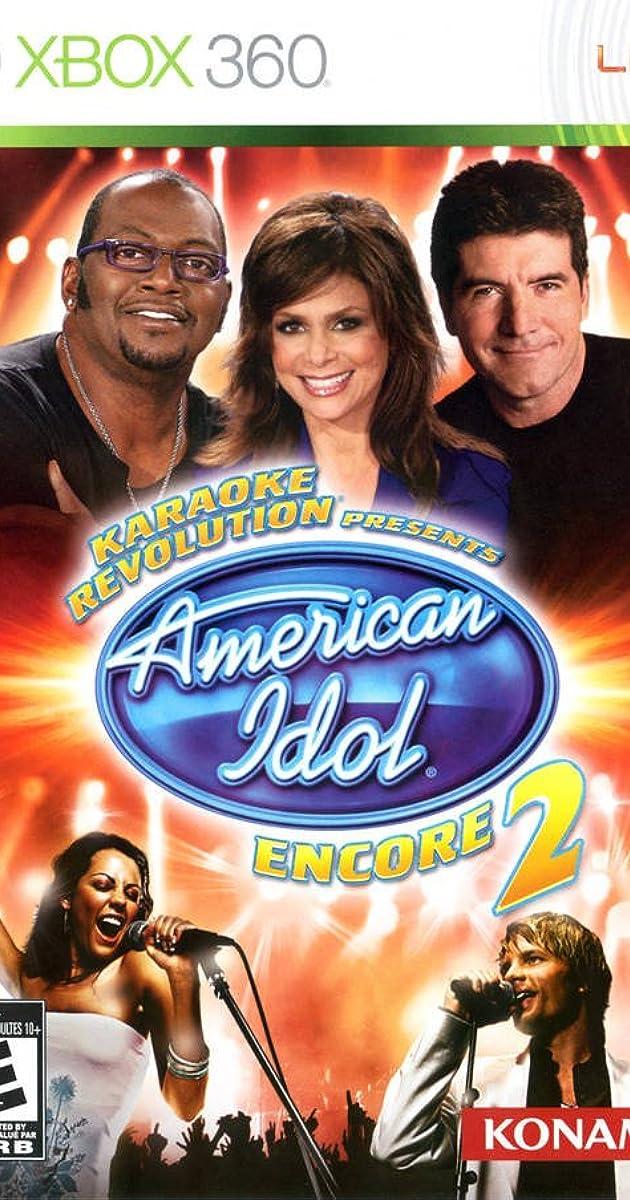 Karaoke Revolution Presents American Idol Encore 2 Video Game 2008 Imdb