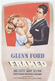 Framed (1947) Poster - Movie Forum, Cast, Reviews