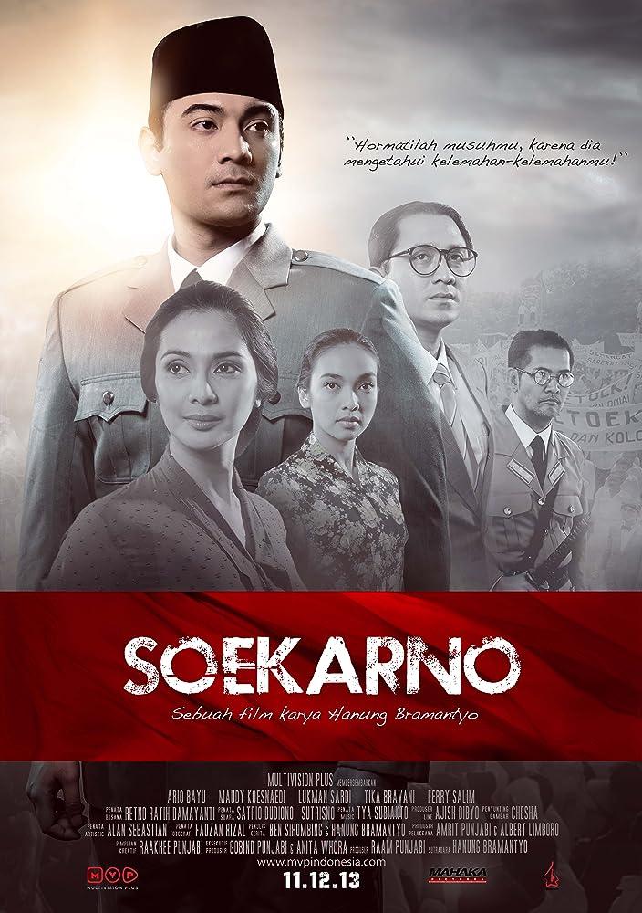 Poster film 'Soekarno: Indonesia Merdeka'