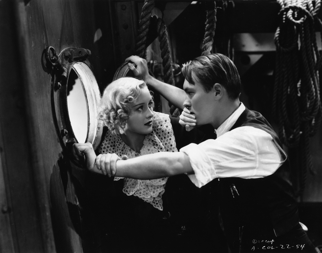Richard Cromwell and Marian Marsh in Unknown Woman (1935)