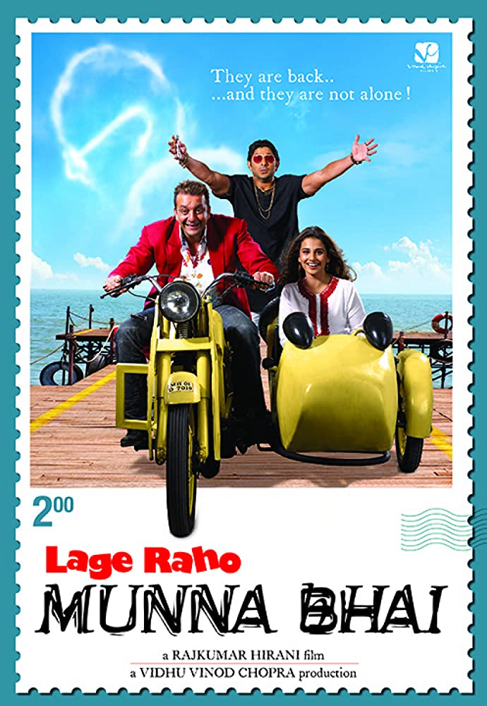 Lage Raho Munna Bhai 2006 Hindi Movie 460MB BluRay ESubs Download