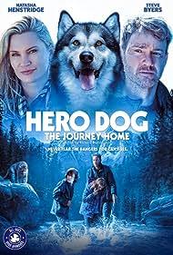 Natasha Henstridge and Steve Byers in Hero Dog: The Journey Home (2021)