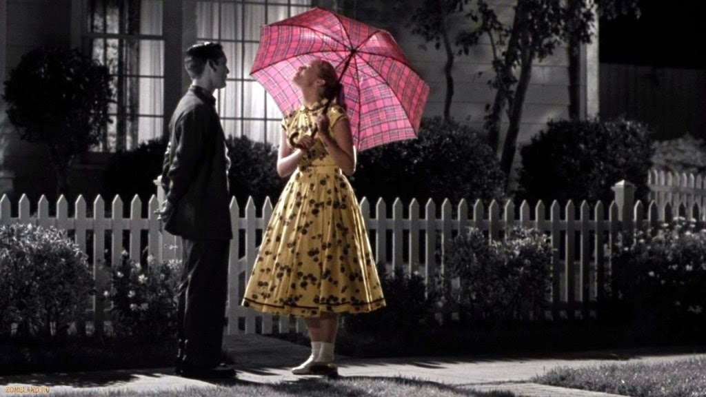 Tobey Maguire and Marley Shelton in Pleasantville 1998