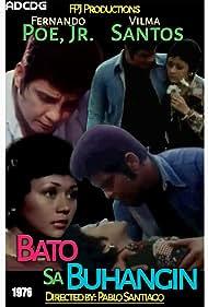 Fernando Poe Jr. and Vilma Santos in Bato sa buhangin (1976)