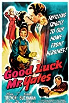 Good Luck, Mr. Yates (1943) Poster