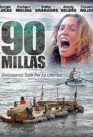 90 millas Poster