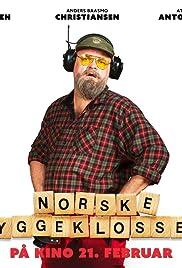 Norske byggeklosser Poster