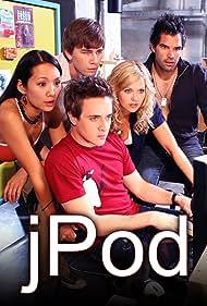 David Kopp, Benjamin Ayres, Steph Song, Emilie Ullerup, and Torrance Coombs in JPod (2008)