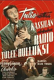 Radio tulee hulluksi Poster