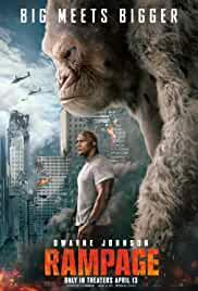 Rampage | 700 MB | 720p | HDRip | English + Hindi