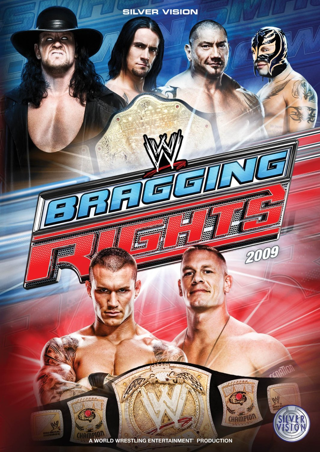 Image result for wwe bragging rights 2009 poster