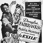 Douglas Fairbanks Jr., Rita Corday, Alla Dunn, and Maria Montez in The Exile (1947)