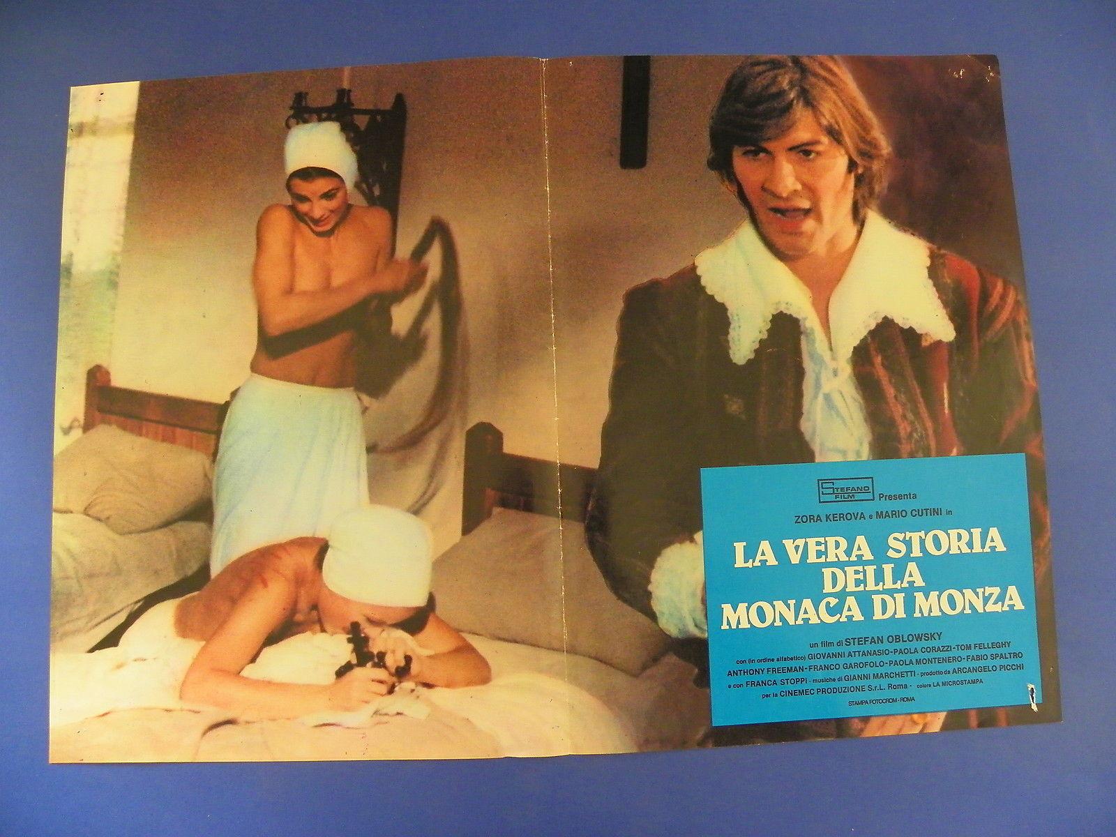 Paola Corazzi and Mario Cutini in La vera storia della monaca di Monza (1980)