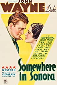 Somewhere in Sonora (1933) Poster - Movie Forum, Cast, Reviews