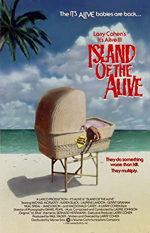 Where to stream It's Alive III: Island of the Alive