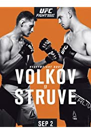 UFC Fight Night: Volkov vs. Struve