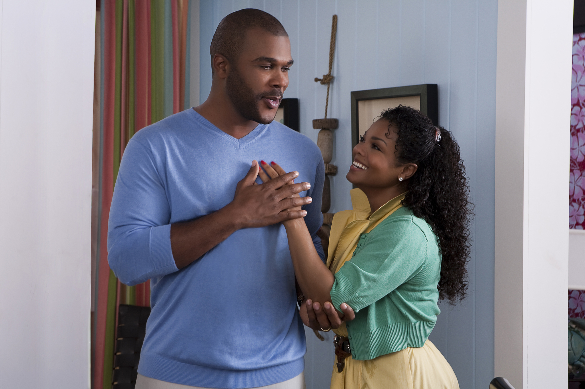 Janet Jackson and Tyler Perry in Why Did I Get Married Too? (2010)