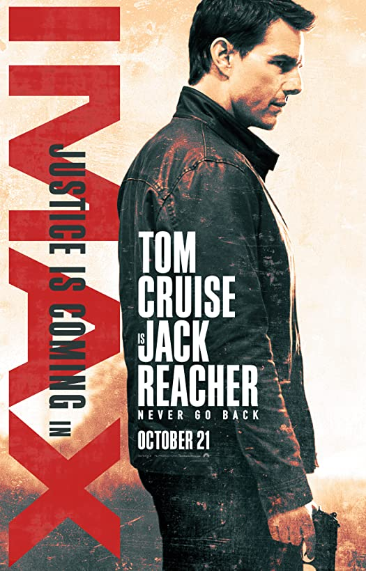 Jack Reacher: Never Go Back (2016) Hindi Dubbed