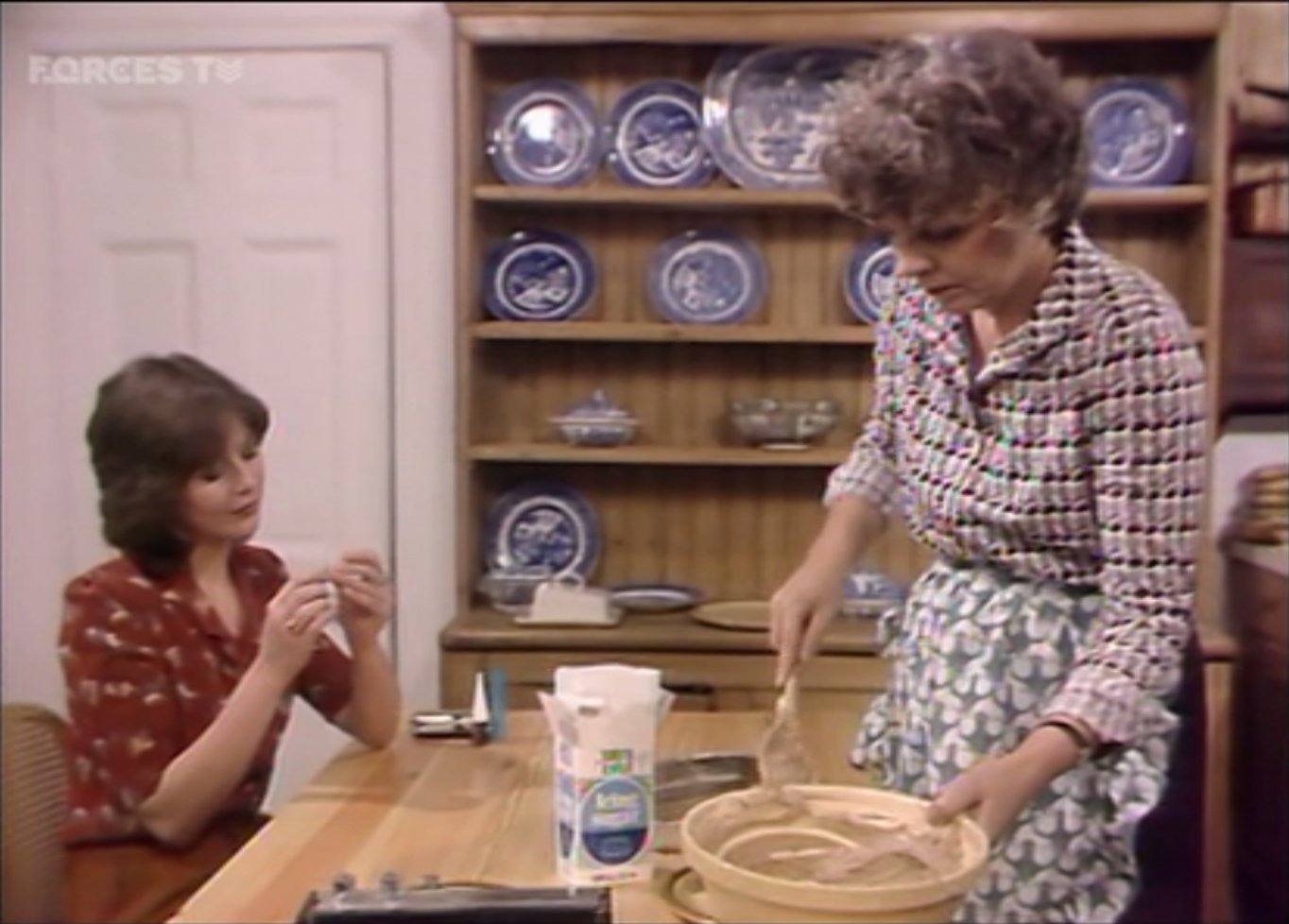 Jenny Quayle and Pauline Yates in Keep It in the Family (1980)