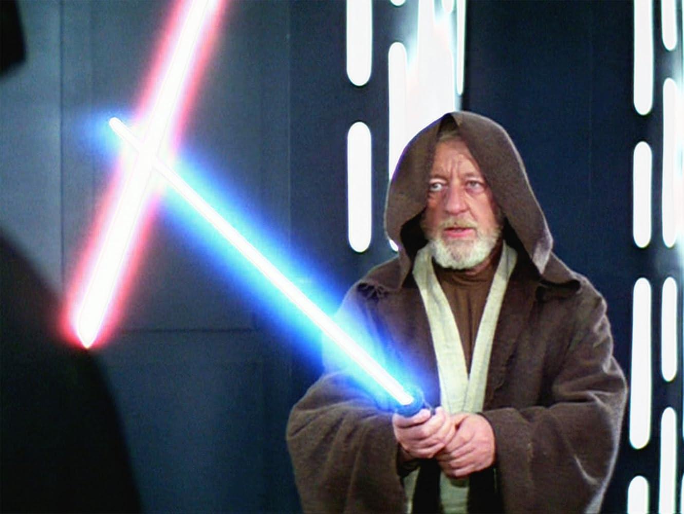Alec Guinness in Star Wars 1977