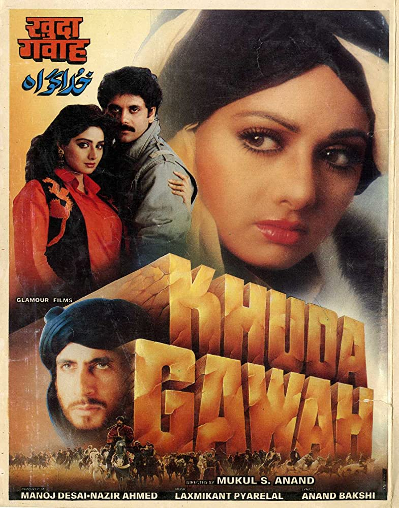 Khuda Gawah 1992 Hindi Movie AMZN WebRip 500mb 480p 1.5GB 720p 5GB 11GB 1080p