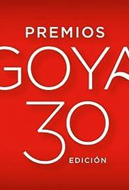 Premios Goya 30 edición Poster