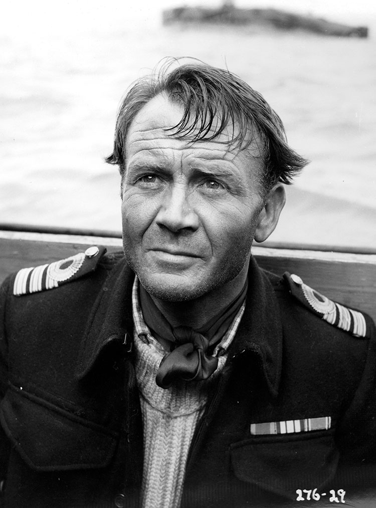John Mills in Above Us the Waves (1955)