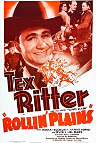 Harriet Bennet, Hobart Bosworth, Tex Ritter, The Beverly Hillbillies, and White Flash in Rollin' Plains (1938)