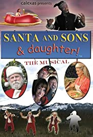 Santa and Sons & Daughter Poster