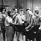 David Durand, Leo Gorcey, Huntz Hall, Ernest Morrison, Bobby Jordan, and Bobby Stone in Kid Dynamite (1943)
