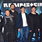 Paul Landers, Richard Kruspe, Till Lindemann, Flake Lorenz, Oliver Riedel, and Christoph Schneider at an event for Rammstein: Paris (2016)